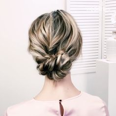 for a way to add a little bit of romance to your wedding hairstyle? Try a braid. The always-in-style accent is the perfect addition to just about any bridal beauty look, whether you're sporting a wispy updo, wearing your hair down, or g Braided Hairstyles For Wedding, Lower Bun Hairstyles, Short Hairdos For Wedding, Wedding Hairstyle Short Hair, Sleek Wedding Updo, Wedding Updo With Braid, Updos For Fine Hair, Hair Updos For Medium Hair, Braided Hairstyles For Short Hair