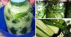 3 rendhagyó uborka eltevési módszer, amit gyorsan ments el magadnak már most! Conservation, Celery, Cucumber, Homemade, Vegetables, Food, Pickles, Canning, Salads