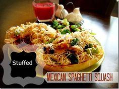 Mexican Stuffed Spaghetti Squash