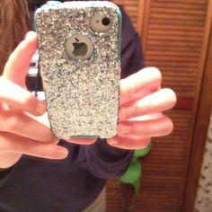 Glitter Phone case! DIY