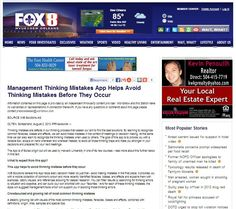 FOX 8 from New Orleans reports on the new management dilemmas iphone app