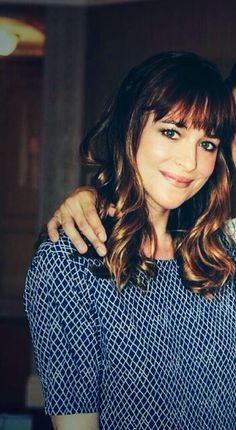 So beautiful ❤️ Dakota Johnson. She makes me think of Maeve from Criminal Minds. The bangs, maybe?