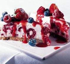http://www.bbcgoodfood.com/recipes/2300/summer-berry-mousse-cake?binderbox=showlogin