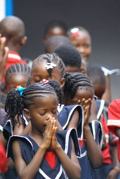 Beautiful children of Liberia