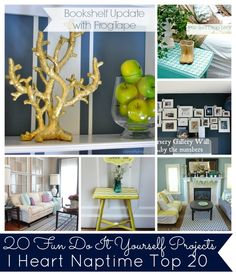 20 amazing DIY Projects {Link Party Features}