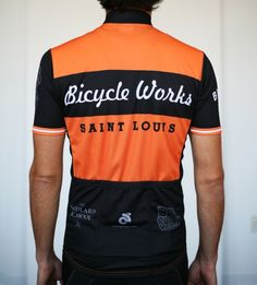 Bicycle Works Jersey designed by TOKY in St. Louis