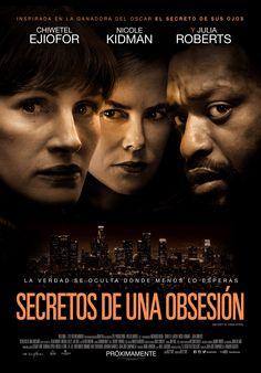 """Julia Roberts y Nicole Kidman protagonizan esta adaptación de la de la aclamada cinta argentina, """"El Secreto de sus Ojos"""", ganadora del Óscar a la Mejor Película Extranjera en el 2010. Entérate en café y cabaret."""