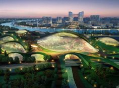 Tianjin Eco City for 350.000 Residents