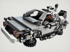 Lego Back to the Future DeLorean