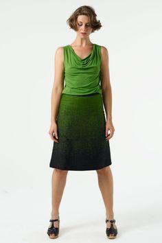 Manifesto Boot Skirt - love the colour