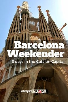 Barcelona Weekender. For more travel news download our FREE All-In-One Travel App from Google play at https://play.google.com/store/apps/details?id=com.app.app35c445408b16&hl=en