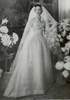 Christian Dior Wedding Dress, 1955