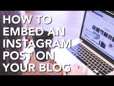 How to Embed an Instagram Post on a Blog - SueBZimmerman