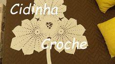 Croche-Folhas De Outono Tapete-Passo A Passo Parte 1/3