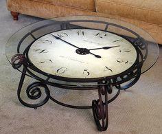 Analog Clocktail Table