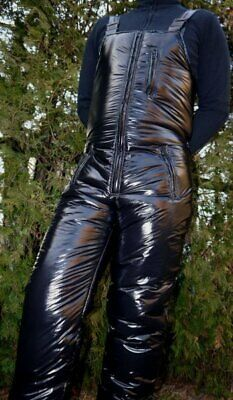 Find many great new & used options and get the best deals for Ultra Shiny nylon LACQUER NYLON  1K Ski pants  S-4XL 15 mm at the best online prices at eBay! Free shipping for many products! Snowboard Pants, Ski Pants, Nylons, Motorcycle Jeans, Latex Men, Salopette Jeans, Latex Pants, Pvc Raincoat, Puffy Jacket