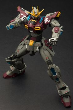 POINTNET.COM.HK - HGBF 1/144 Try Burining Gundam