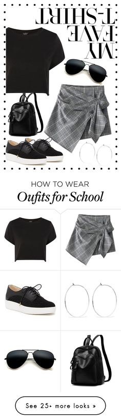 """Untitled #144"" by natalie-3-7 on Polyvore featuring Topshop, Dr. Scholl's, Catbird and MyFaveTshirt"