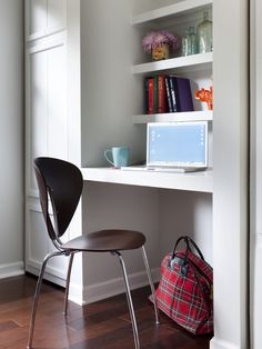 Home Office Nook - 10 Smart Design Ideas for Small Spaces on HGTV