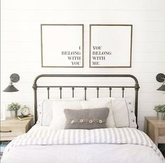Image result for bedroom with shiplap wall