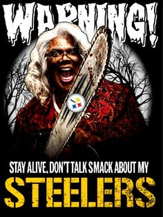 Let's Go! #PIttsburgh Steelers!✌ https://www.fanprint.com/licenses/pittsburgh-steelers?ref=5750