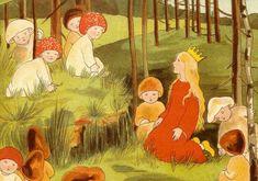Prinzesschen im Walde - Sibylle von Olfers