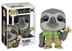 Flash, from the upcoming Disney's Zootopia Pop! vinyl collection. I've already claimed Flash as mine.