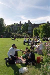 May 31st - Glyndebourne Festival, Lewes, East Sussex, England * Picnicking on the grass is a ritual at the Glyndebourne Festival, where opera fans flock to hear world-class performances in a season that runs from late May to August.  The festival is just a one hour train ride from London.