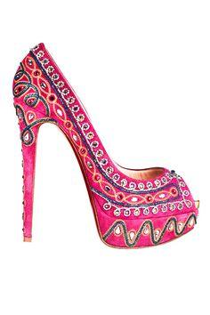 christian louboutin..pink pair !!!!