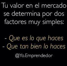 #AsiMismoEs #ebsTrainner  @Regrann from @yo.emprendedor -  Es así de simple la fórmula para determinar tu valor en el mercado mi consejo para ustedes es que siempre inviertan tiempo y dinero en sí mismos en su crecimiento personal y su crecimiento profesional y laboral.  Solo así podrán cobrar mas y su trabajo tendrá mas valor.  #Yoemprendedor #venezuela #like #comenta #comparte #trader #trading #forex #consejo #Regrann