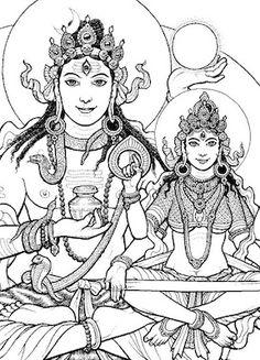 Amriteshwara and Amritalakshmi by Ekabhumi Charles Ellik