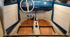 Resultado de imagem para vw beetle wood floor