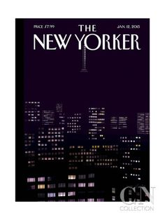 The New Yorker Cover - January 2015 Poster Print by Jorge Colombo at the Condé Nast Collection The New Yorker, New Yorker Covers, Cover Pages, Cover Art, Album Covers, Capas New Yorker, Chris Ware, Magazin Covers, Wall Art For Sale