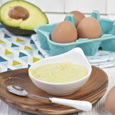 Egg Yolk   Avocado Puree