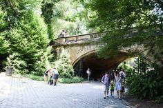 Central Park e un vestito a fiori