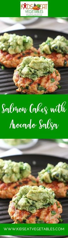 The Omega-3 fatty acids in salmon and avocado are super healthy, so many amazing benefits and support of brain development and health. Getting your kids to eat them, not always easy. Kids can be picky about fish. That is why these salmon cakes are the p