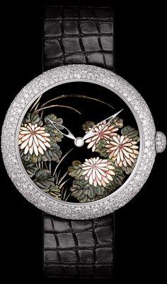 Coromandel Diamond Watch from Chanel