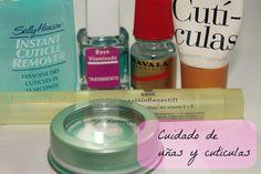Productos para el cuidado de las uñas y cutículas.