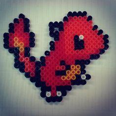 #charmander #pokemon #nintendo #perlerart #keychain #hama #pyssla #perler #art