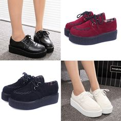 2016 new fashion creepers shoes woman plus size women Flats Shoes Creepers platform shoes♦️ SMS - F A S H I O N 💢👉🏿 http://www.sms.hr/products/2016-new-fashion-creepers-shoes-woman-plus-size-women-flats-shoes-creepers-platform-shoes/ US $14.01