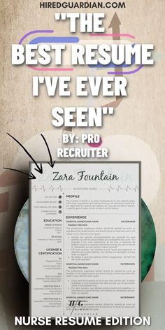 Why you need a Best Resume? Nowadays, Poor quality Resume is a no-no with a recruiter. That is why we are here to help you with how to make a resume and what skills to put on your resume. This Resume Template Bundle is for nursing student resume, registered nurse resume, also new nurse resume. This Include Resume Writing Tips all over the Resume. #rnresume #resumetemplate #resume #nursingresume #nursingresumetemplate #resumefornurse Student Nurse Resume, Registered Nurse Resume, Rn Resume, Best Resume, Nursing Students, Nursing Resume Template, Resume Template Examples, Good Resume Examples, Cover Letter Template