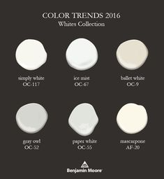 Postcards from the Ridge: Color Trends & 2016 Color of the Year ~ Simply White Source by mochamuffingirl 2016 White Paint Colors, Neutral Paint, Interior Paint Colors, Paint Colors For Home, White Paints, House Colors, Gray Paint, Interior Design, Interior Ideas