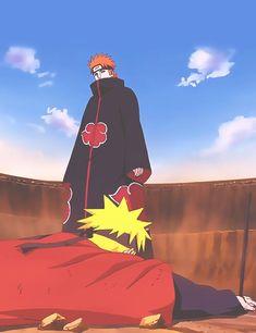 Naruto shippuden pain vs. Naruto + Hinata