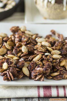 ... roasted pumpkin seeds roasted maple honey cinnamon pumpkin seeds more