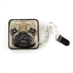 Catseye. Pug Dog Tape Measure. - Cat and Dog Crazy