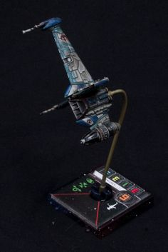 Amazing B-Wing repaint Star Wars X Wing Miniatures Game