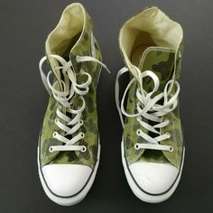 0d76e8f0d33c Converse Chuck Taylor All Star CAMO Sneakers Men s Size 12  Converse   BasketballShoes