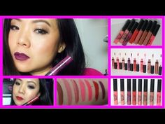 Long Lasting Liquid Lipsticks by Ofra Swatches & Review https://www.ofracosmetics.com/collections/lips/products/long-lasting-liquid-lipstick