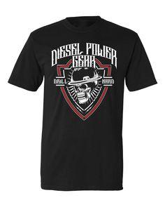 Oilfield Drill Hard Drill, Diesel, Mens Tops, T Shirt, Diesel Fuel, Supreme T Shirt, Hole Punch, Tee Shirt, Drills