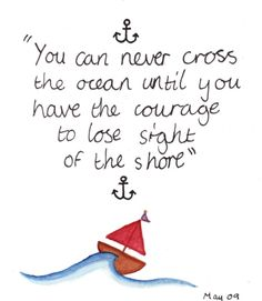 Christopher Columbus quote #courage